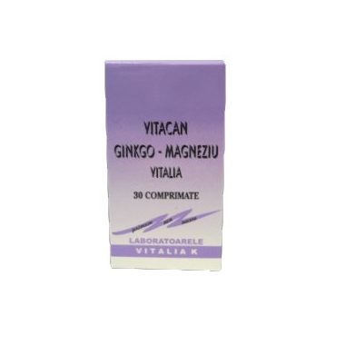 Vitacan Ginkgo Magneziu 30cps