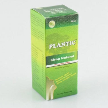 Plantic Sirop fara zahar 60ml