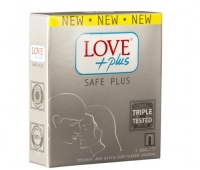 Prezervative Love Plus Safe Plus 3buc