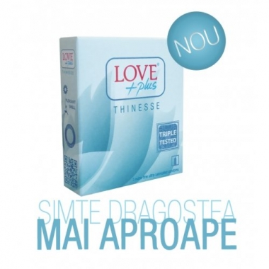 Prezervative Love Plus Thinesse 3buc