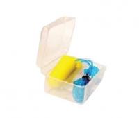 Antifoane silicon cu snur 1 per 3buc + cutie pastrare
