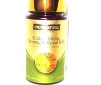 Ginkgo Biloba + Ginseng + Royal Jelly 60cps