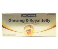 Ginseng + Royal Jelly 10 fiole x 10ml