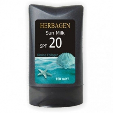 Lapte plaja cu colagen marin SPF20 150ml