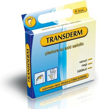 Plasturi negi & bataturi Transderm 6buc/cut