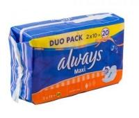 Always Duo Maxi Normal Plus 10x2buc