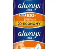 Always Ultra Plus Normal 2x10buc