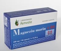 Magneziu marin 100mg + B6 30cpr