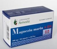 Magneziu marin 100mg + B6 50cpr