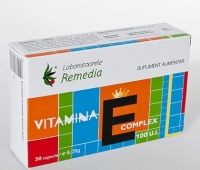 Vitamina E Complex 100UI 30cps
