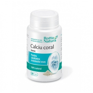Calciu Coral Ionic 90cps