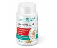 Coenzima Q10 15mg 30cps