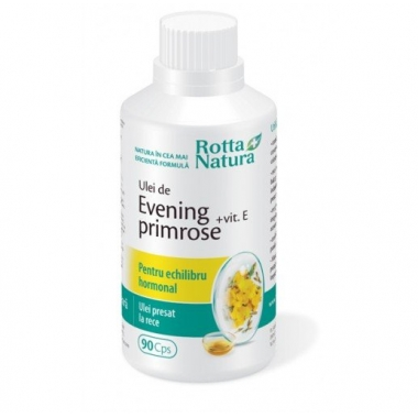 Evening Primrose + Vitamina E 90cps