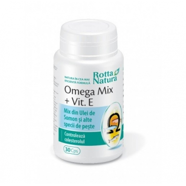 Omega Mix + Vitamina E 30cps