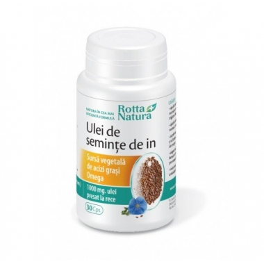 Ulei seminte de in 1000mg 30cps