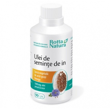 Ulei seminte de in 1000mg 90cps