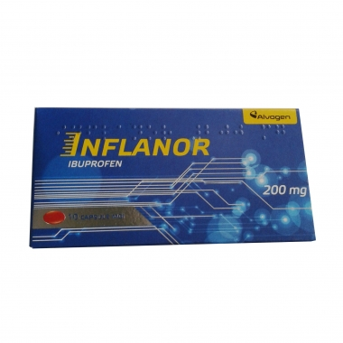 INFLANOR 200 MG*10CPS MOI