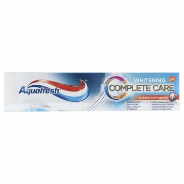 Aquafresh Complete Care Whitening x 100 ml