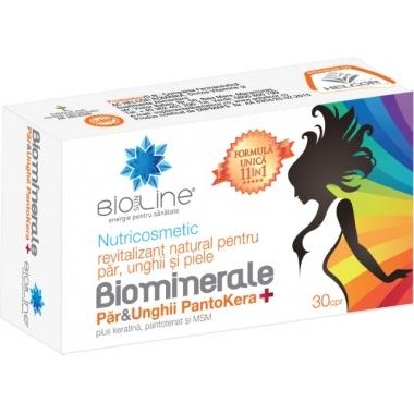 Biominerale par si unghii Pantokera, 30 tablete