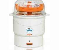 Sterilizator de biberoane cu abur Mebby Mono