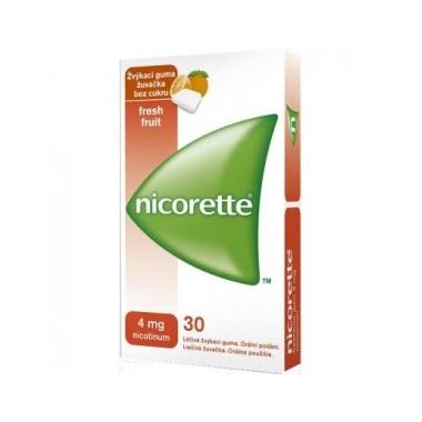 Nicorette Freshfruit 4 mg x 30 gume masticabile