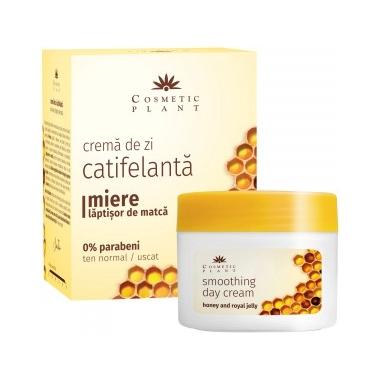 Crema de zi catifelanta miere si laptisor de matca x 50 ml