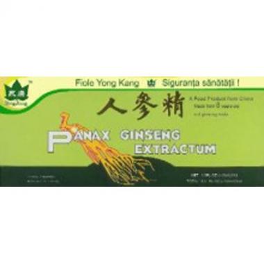 Ginseng Panax 10 fiole x 10 ml