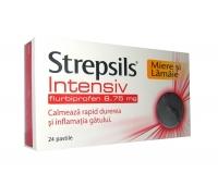 Strepsils Intensiv Miere si Lamaie X 24 pastile