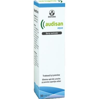Audisan Aqua spray auricular x 30 ml, Biofarm