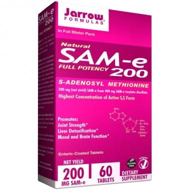 Sam-e Full Potency 200 mg x 60 cps