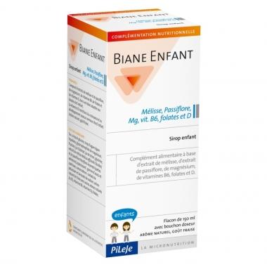 PiLeJe Biane Enfant Sirop copii - Roinita, Floarea pasiunii, Mg, vit b6, vit D si folati, 150ml