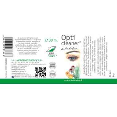 OPTI CLEANER 30ML, MEDICA