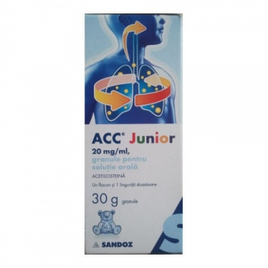 Acc Junior 20mg, 30 g, Sandoz