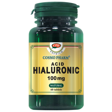 ACID HIALURONIC 100MG 30CPR, COSMOPHARM