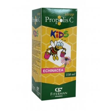 SIROP PROPOLIS C KIDS + ECHINAC 150ML + MAGNET, FITERMAN PHARMA