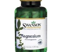 MAGNEZIU 200MG 250CPS, SWANSON