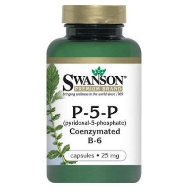 VITAMINA B6 (PIRIDOXINA) 25MG 60CPS, SWANSON