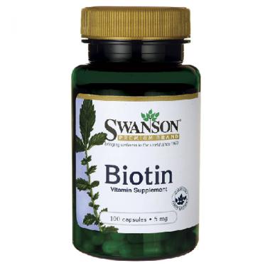 VITAMINA B7 -BIOTINA 5MG 100CPS, SWANSON