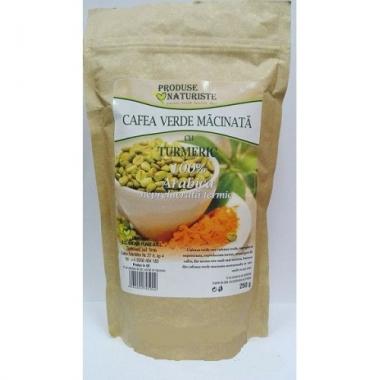 CAFEA VERDE CU TURMERIC 250GR, ANDARI PLANT