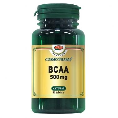 BCAA 500MG 30CPR, COSMO PHARM - PREMIUM