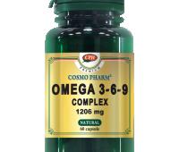 OMEGA 3-6-9 COMPLEX 1206MG 60CPS, COSMO PHARM - PREMIUM