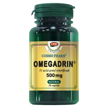 OMEGADRIN 500MG 30CPS, COSMO PHARM - PREMIUM