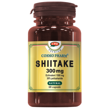 SHIITAKE 300MG 60CPS, COSMO PHARM - PREMIUM