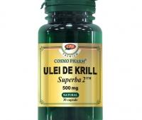 ULEI DE KRILL SUPERBA 2 500MG 30CPS, COSMO PHARM - PREMIUM