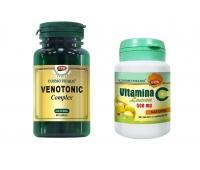 VENOTONIC C.60CPS+VIT.C LAMAIE 60CPR GRATIS, COSMO PHARM - PREMIUM