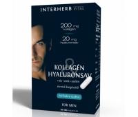 COLAGEN&ACID HIALURONIC PT BARBATI 30CPS, INTERHERB