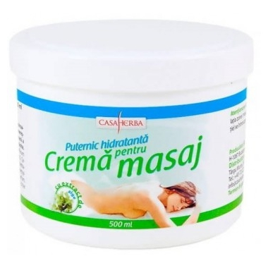 CREMA PENTRU MASAJ (ALGE MARINE) 500ML, INTERHERB