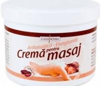 CREMA PENTRU MASAJ (COFEINA) 1000ML, INTERHERB