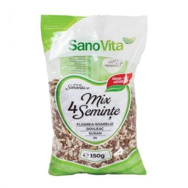 MIX 4SEMINTE 150GR, SANO VITA