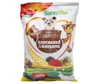 MUSLI CROC BANANE+CIOCOL 500GR, SANO VITA